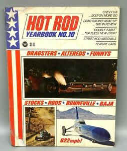 1971 Hot Rod Yearbook 10th annual | cars drag racing AMAZING photos history