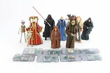Star Wars Commtech Action Figure Lot Darth Maul Rune Haako Valorum Sidious