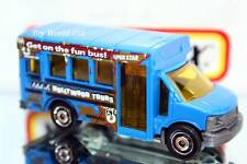 2015 Matchbox City Adventure Gmc School Bus