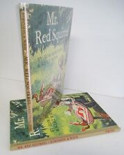 MR RED SQUIRREL by Tom Robinson & Kurt Wiese, 1943 1st Ed 2nd Ptg in DJ