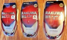 LOT of 3 NEW Phiten RAKUWA Necklace Neck High-End Aqua Titan X50 50cm SHIPS FREE