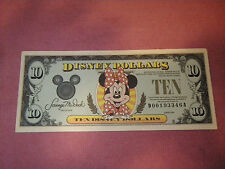 DISNEY DOLLARS 1990   $10 D00193346A