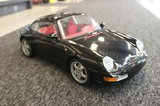 Pocher built kit Porsche 911 Carrera 1:8 black