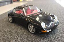 Pocher built kit Porsche 911 Carrera 1:8 black
