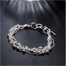 DAMEN ARMBAND 925er Silber Armkette Armreif Armschmuck Schmuck Accessoirs NEU