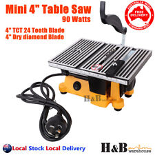 "4""  Mini Table Bench Saw 220V Miniature Portable For Hobbies Handcraft T0323"