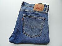 """LEVIS 511 Mens Jeans SLIM Fit Blue Denim Zip Fly SIZE W36 L32 Waist 36"""" Leg 32"""""""