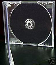 200 CD JEWEL CASES COMPLETE WITH CLEAR TRAYS *BRANDNEW*