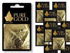 wholesale lot @ ON SALE @ 10 packs   24ct Gold Leaf sheets   @ON SALE@