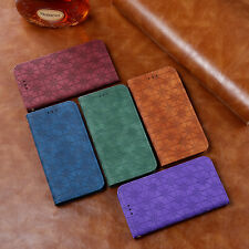 For Huawei Honor 10X Lite Y5 Plus PU Leahter Flip Wallet Stand Phone Case Cover