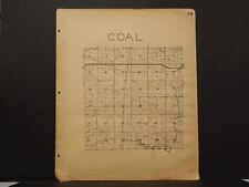 Missouri Vernon County Map Coal Township 1928   !R5#18