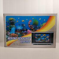 Moving Seascape Picture Light Motion Seascape Lamp # 716 New