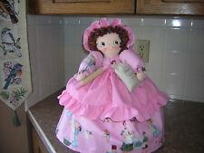~Toaster Cover Doll~Fits a 2 slice toaster~Kitchen Decor~Vintage Design~