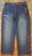 Mens Davoucci Baggy Jeans Sz 40 Inseam 33 Distressed