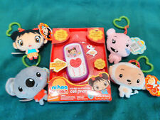 Fisher Price Ni Hao Kai Lan Toy Lot Cell Phone Clip On Plush