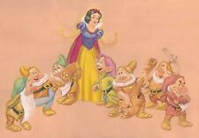 Disney Fine Art  Snow White and 7 Dwarfs by Manny Hernandez