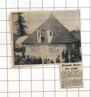 1958 House Design For Greek Government To Provide Protection From Lava