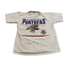 Vintage 1993 90's Florida Panthers NHL Hockey T-Shirt Men's Inaugural