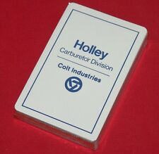 Colt Industries / Firearms Holley Playing Cards Mint