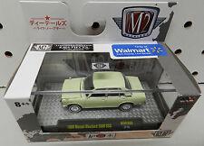 1969 BLUEBIRD 1600 SSS WMTS05 17-15 GREEN WALMART NISSAN DATSUN JAPAN M2