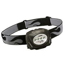 Princeton Tec QUAD 78 Lumen 4-LED Rechargeable Headlamp Head Light Black