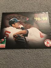 Boston Red Sox 98-99 Coca Cola Calendar - Pedro - Nomar - Varitek - Mo Vaughn