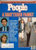 1985 People June 17-Claus and Sunny von Bulow; Bruce Springsteen; Don Johnson