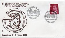 España Semana de Numismatica Barcelona año 1980 (CA-602)