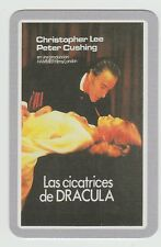 2006 Spanish Pocket Calendar Scars Of Dracula Christopher Lee Peter Cusing