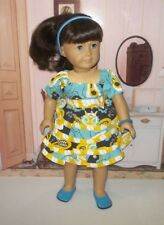 """doll clothes dress and shoes fits 18""""American Girl doll josefina Jelly the pug"""