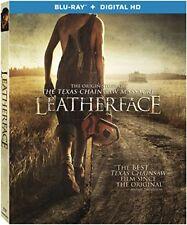 Leatherface Blu-ray 2017 The Texas Chainsaw Massacre Stephen Dorff & Lili Taylor