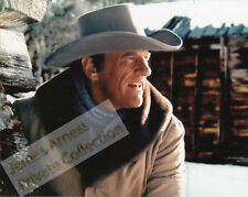 "James Arness Gunsmoke Marshal Dillon ""Snow Train"" Close Up Color 8 x 10"