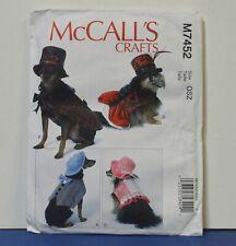 McCall's M7452 DOG Costumes Patterns New Uncut S-XXL Top Hat Bodice Shirt Skirt