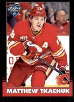 2020-21 UD O-Pee-Chee Retro Black Border 101 Matthew Tkachuk /100 Calgary Flames