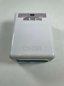 CND 4 UV Lamp Nail Dryer Model 08200 5-finger Cure & Pedicures for Gel & Shellac
