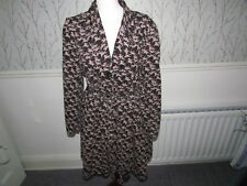 Black  Coat  with Horse Rider Design Size 16 by Atmosphere