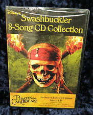 Walt Disney Pirates of the Caribbean Swashbucklers 8 Song Collection SEALED