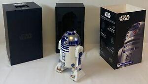 sphero STAR WARS R2-D2 APP ENABLED DROID in box, missing USB ~ tested, WORKS