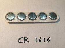 New CR1616 3V 50mAh Lithium Button Coin Battery Batteries Watch Calculator x5