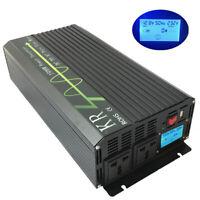 Solar Power Inverter 1500W 12V to 230V 50HZ Off Grid Pure Sine Wave Converter