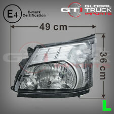 HINO 300 SERIES HEADLIGHT WIDE CAB L/H WITH E-MARK - 2012 ONWARDS (HL12-HLL)