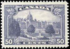 Mint H Canada 50c VF 1935 Scott #226 King George V Pictorial Stamp
