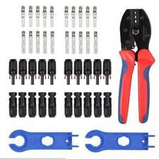 2tlg MC4 Stecker Y Verteiler 3 fach Solarstecker Solar Kabel Schlüssel Zange