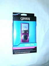 gear4 IceBox Pro Crystal Pink case with Brushed metal front ipod nano 4th Gen