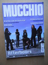 MUCCHIO SELVAGGIO n°645 2008 Afterhours REM Max Gazzè Amy Winehouse [D39]