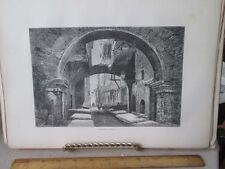 Vintage Print,PESCHERRIA VECCHIA,Rome,Francis Wey,1872