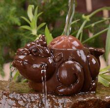 1pc China  Handmade Purple Clay Tea Pet Lucky Pi Xiu  Zi Ni