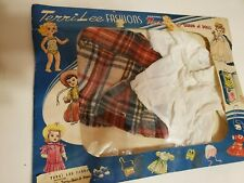 "Vintage Terri Lee Outfit Skirt & Blouse in Unopened Package for 16"" Doll"