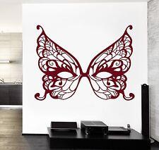 Wall Vinyl Decal Mask Masquerade Secret Dream Bedroom Amazing Decor z3779
