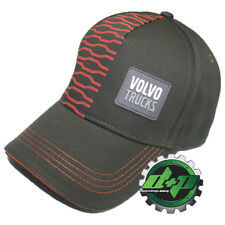 Volvo Trucks 18 wheeler brown hat ball adjustable cap design patch trucker gear